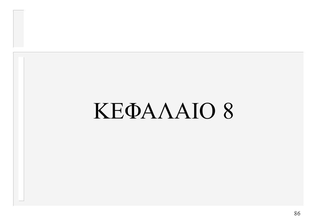 86 ΚΕΦΑΛΑΙΟ 8