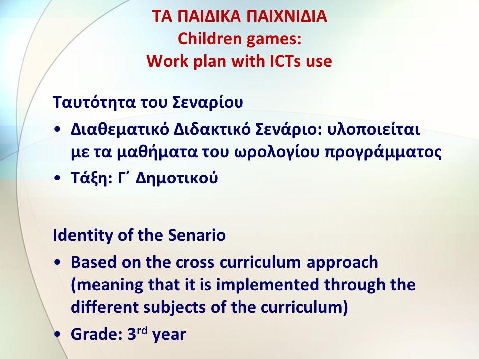 6 η δραστηριότητα – διδακτική 6 th activity - teaching Πατήστε πάνω στον παρακάτω υπερσύνδεσμο και παρακολουθήστε το «ΠΑΙΧΝΊΔΙ ΧΤΕΣ ΚΑΙ ΣΗΜΕΡΑ» http://www.authorstream.com/Prese ntation/lyc2vril-1920205/ Με τη βοήθεια του λογισμικού γενικής χρήσης Παρουσίασης οι μαθητές παρακολουθούν επιλεγμένες εικόνες από το διαδίκτυο στις οποίες εμφανίζονται παιχνίδια παλαιοτέρων εποχών και της σημερινής.