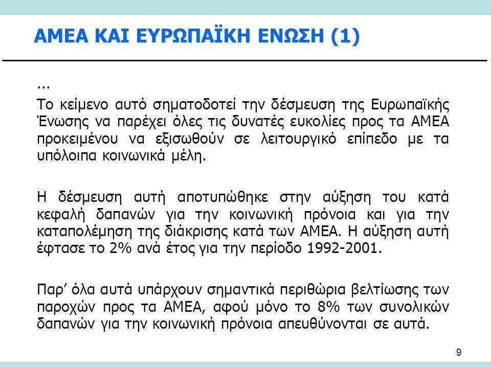 70 ΠΑΜΜΑΚΑΡΙΣΤΟΣ (ΙΔΡΥΜΑ ΓΙΑ ΤΟ ΠΑΙΔΙ) (1) Το Ίδρυμα για το Παιδί Παμμακάριστος , προσφέρει υπηρεσίες σε άτομα με αναπηρία ή/και κοινωνικά προβλήματα, ημίτροφα ή οικότροφα από την ευρύτερη περιοχή της Αττικής και από όλη την Ελλάδα.