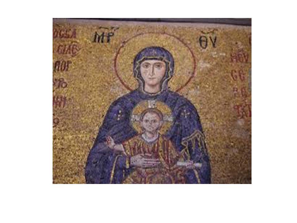 Στο Βυζάντιο είχε αναπτυχθεί η ζωγραφική με πρώτη μορφή την αγιογραφία.