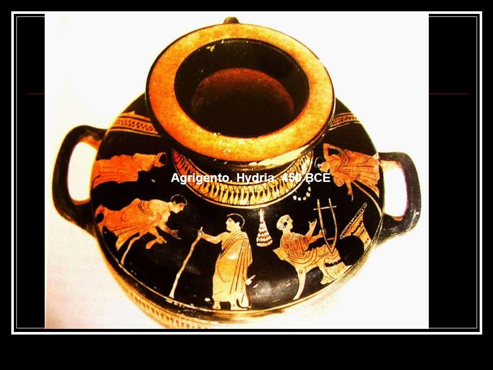Agrigento. Hydria. 450 BCE