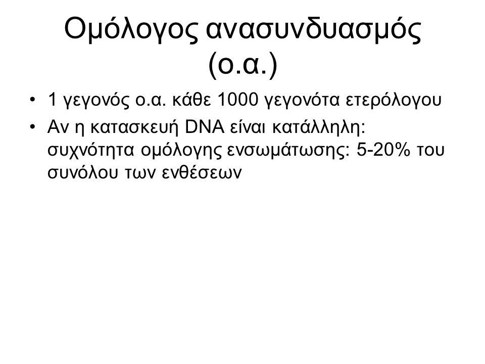 Ανασυνδυασμός ειδικής θέσης- Site specific recombination
