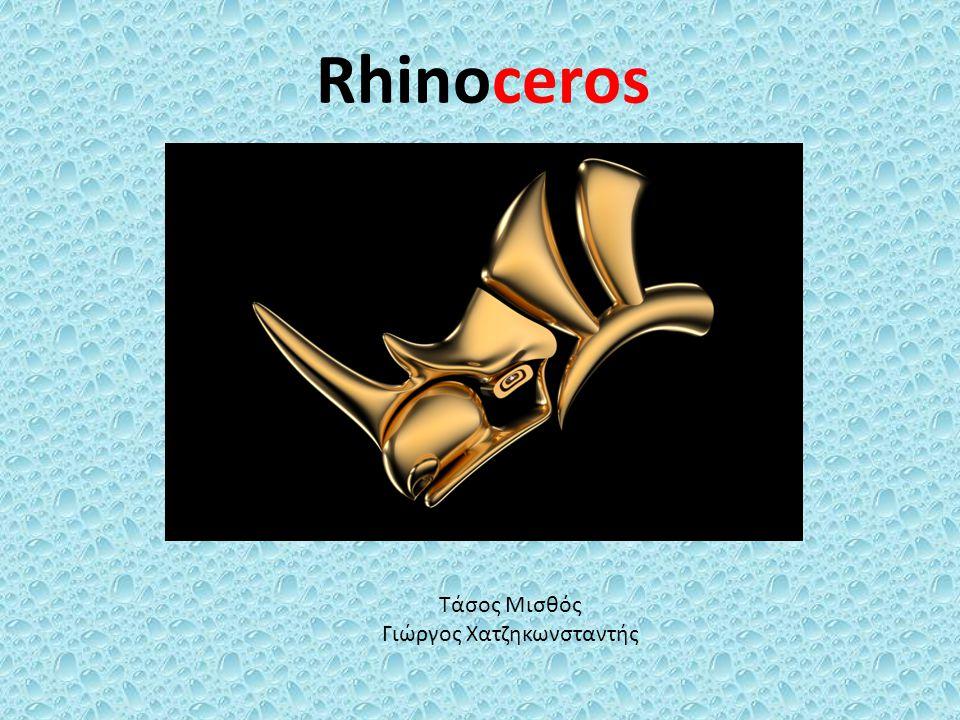 Rhinoceros Τάσος Μισθός Γιώργος Χατζηκωνσταντής
