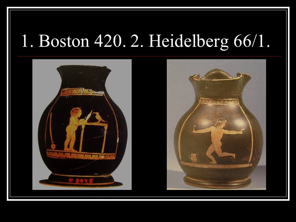 1. Boston 420. 2. Heidelberg 66/1.