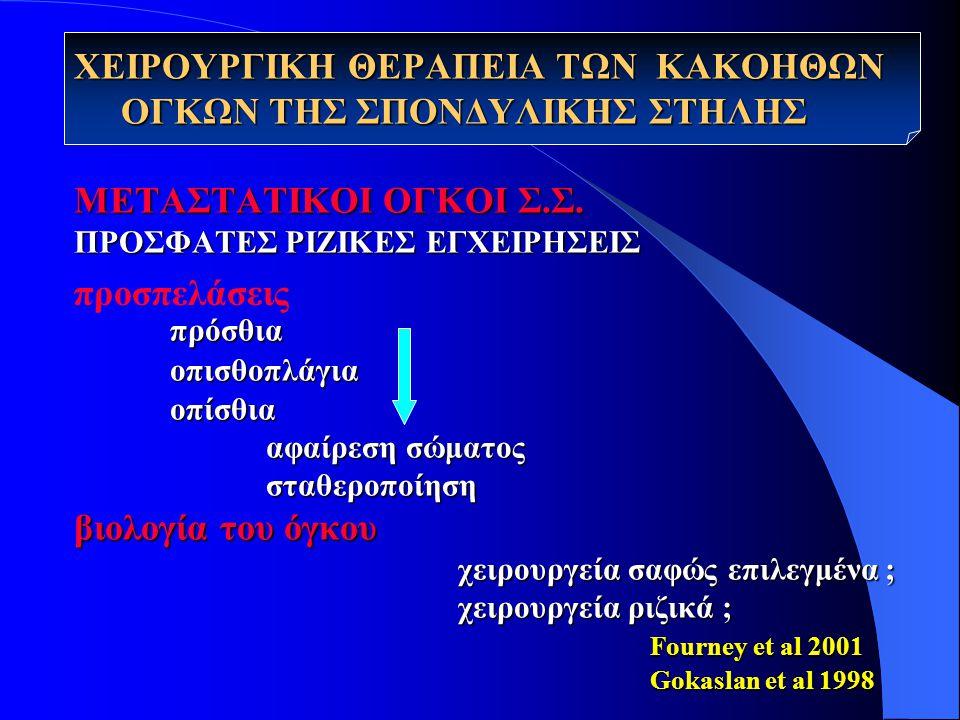 ΜΕΤΑΣΤΑΤΙΚΟΙ ΟΓΚΟΙ Σ.Σ.