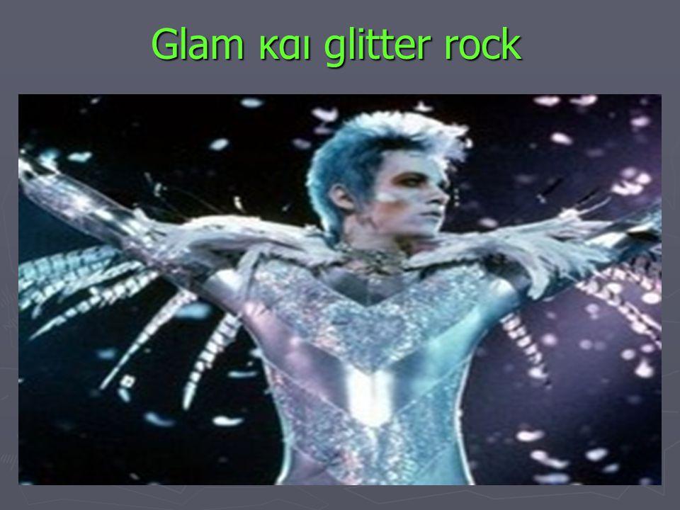 Glam και glitter rock