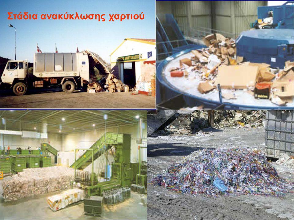 Στάδια ανακύκλωσης χαρτιού