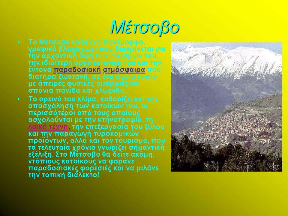 Δωδώνη Η Δωδώνη είναι ορεινός οικισμός κτισμένος σε υψόμετρο 730 μ., με πληθυσμό 100 περίπου κατοίκων στην πρώην επαρχία του νομού Ιωαννίνων.Η Δωδώνη