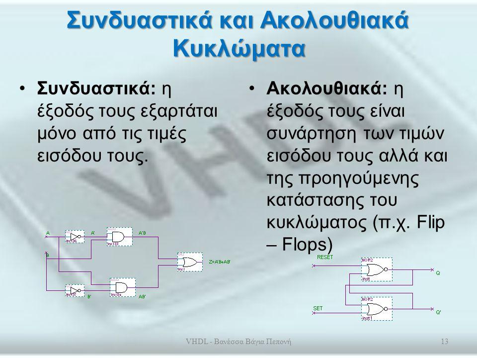 Το περιβάλλον Quartus – Προσομοίωση (Simulation) Υπάρχουν δύο τύποι εξομοίωσης: –λειτουργική (functional) και –χρονισμών (timing).
