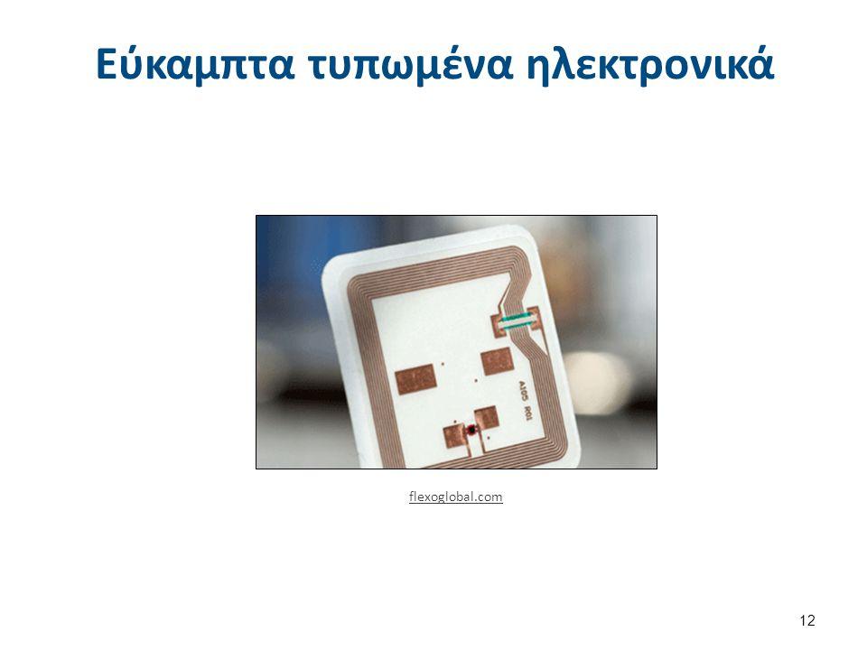 Εύκαμπτα τυπωμένα ηλεκτρονικά flexoglobal.com 12