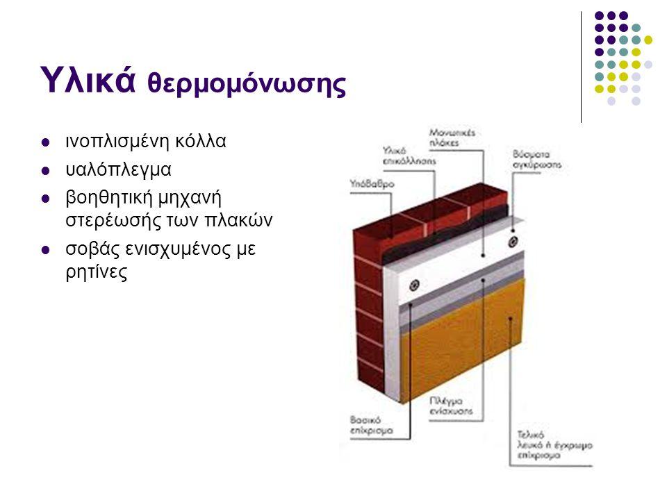 Υλικά θερμομόνωσης ινοπλισμένη κόλλα υαλόπλεγμα βοηθητική μηχανή στερέωσής των πλακών σοβάς ενισχυμένος με ρητίνες