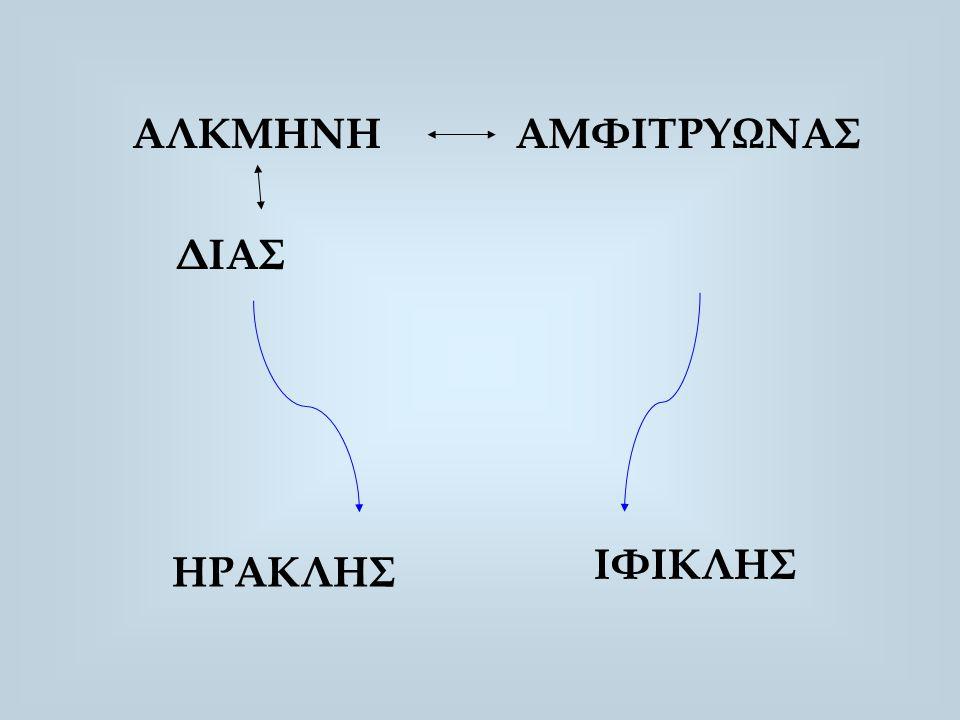 ΑΛΚΜΗΝΗΑΜΦΙΤΡΥΩΝΑΣ ΔΙΑΣ ΗΡΑΚΛΗΣ ΙΦΙΚΛΗΣ