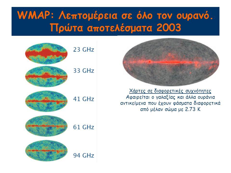 WMAP: Λεπτομέρεια σε όλο τον ουρανό.
