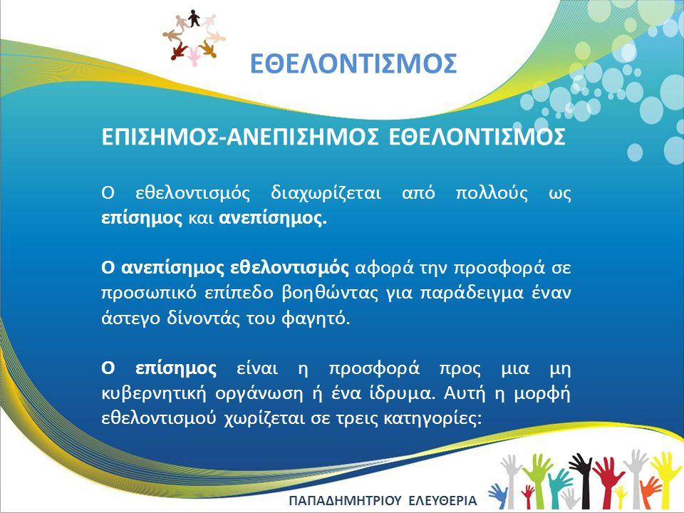 EΘΕΛΟΝΤΙΣΜΟΣ ΗΛΕΚΤΡΟΝΙΚΕΣ ΠΗΓΕΣ www.13dim-kaval.kav.sch.gr/ www.cyfamplan.org/ www.worldpharmacists.org www.mdmgreece.gr/ www.praksis.gr/ www.kivotostoukosmou.org www.hamogelo.gr/ www.wwf.gr/ www.anthropos.gr www.1lyk-iliou.att.sch.gr/katerina%20project.pdf Ευχαριστούμε θερμά το Δήμο Καβάλας για τη βοήθειά του και τον κύριο Παπαδόπουλο Κωνσταντίνο - Γεωπόνο.