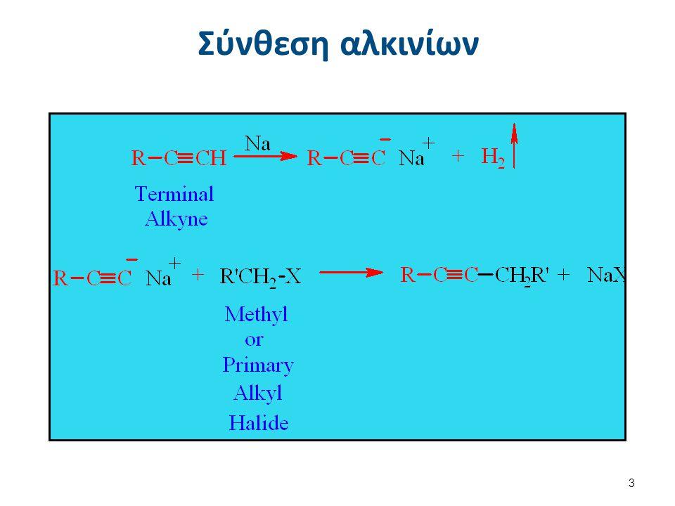 Σύνθεση αλκινίων 3