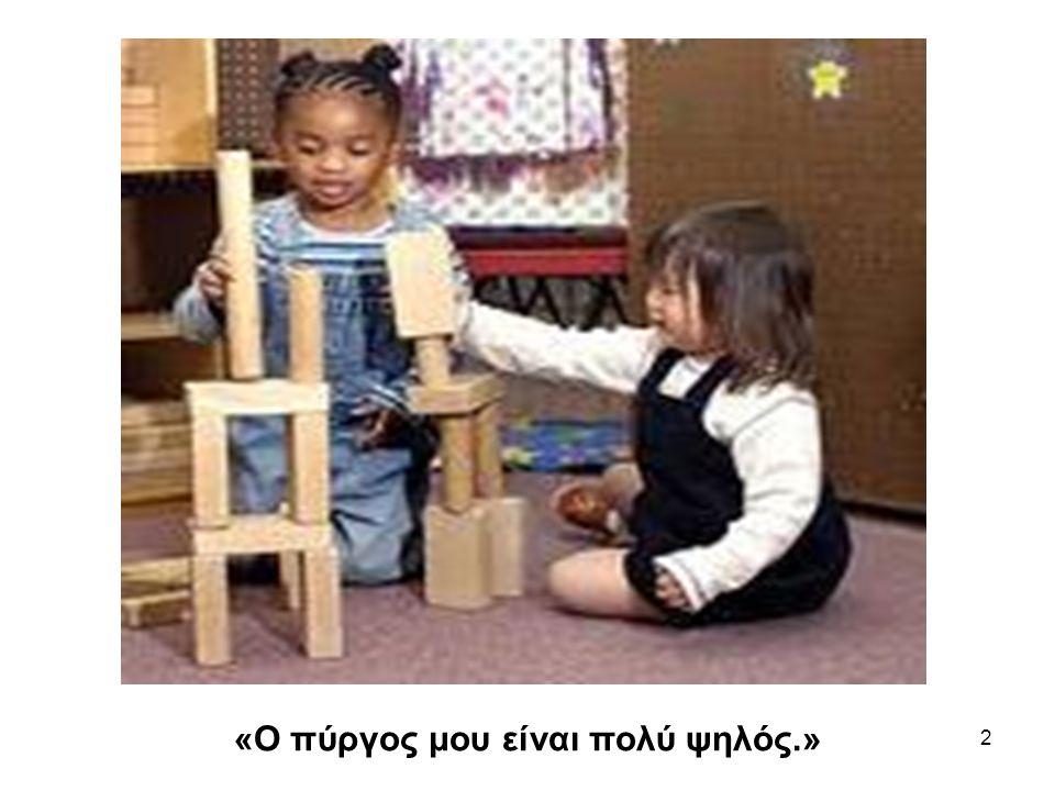 2 «Ο πύργος μου είναι πολύ ψηλός.»
