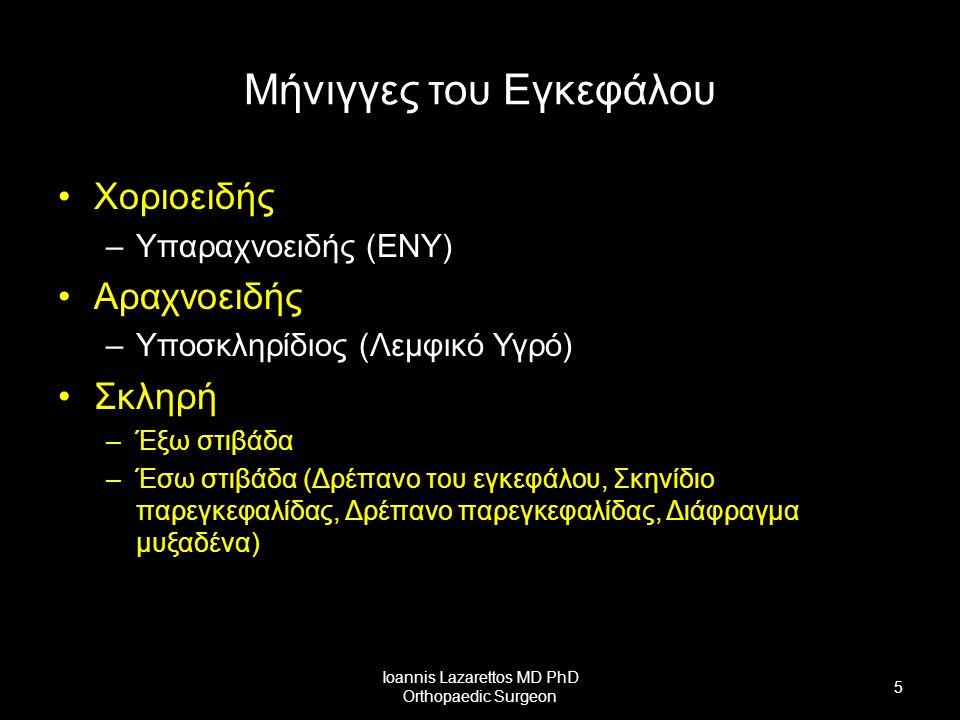 Ioannis Lazarettos MD PhD Orthopaedic Surgeon 26 Αυτόνομο ή Φυτικό Νευρικό Σύστημα (ΑΝΣ) Συμπαθητικό Παρασυμπαθητικό