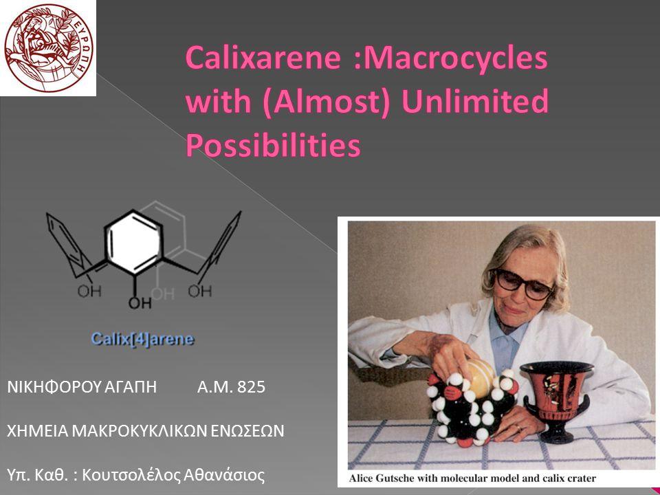 Molecular Chemistry to Supramolecular Chemistry Supramolecular Chemistry : I.