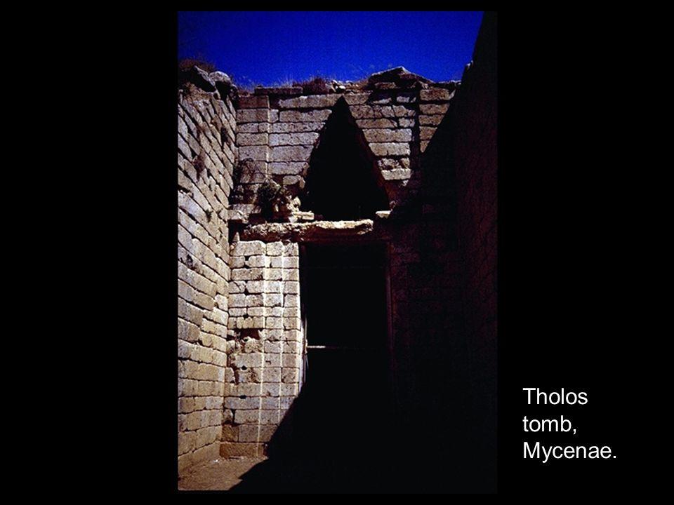 Tholos tomb, Mycenae.