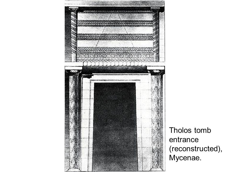 Tholos tomb entrance (reconstructed), Mycenae.
