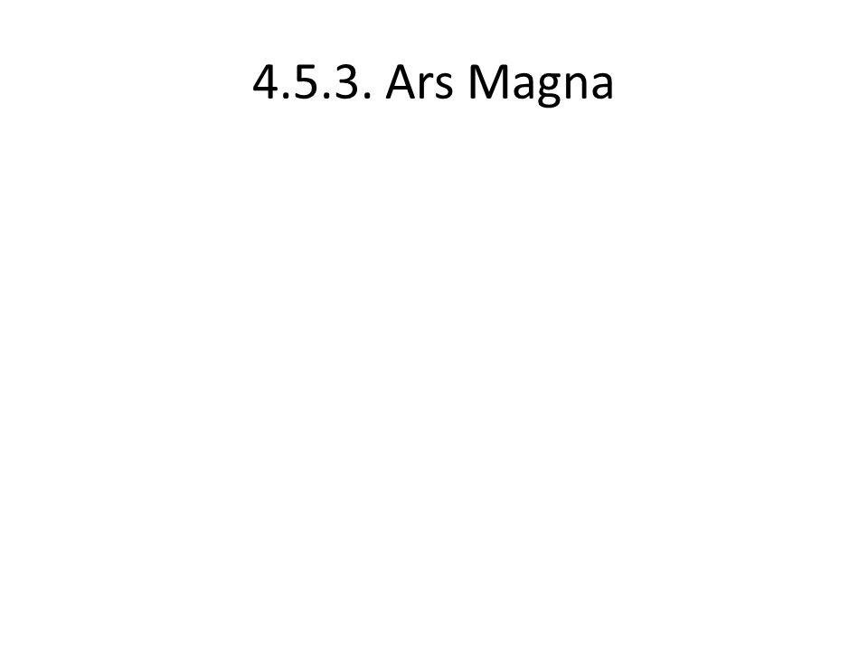 4.5.3. Ars Magna