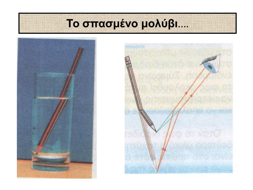 Το σπασμένο μολύβι ….