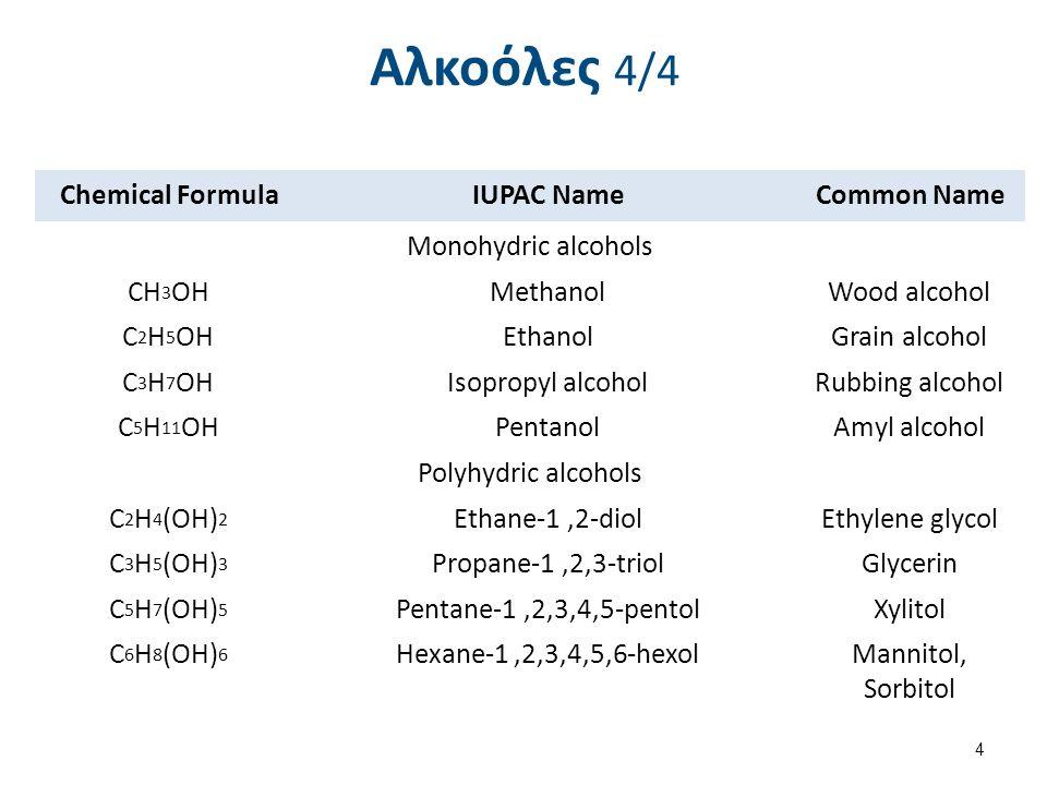 Δευτεροταγείς αλκοόλες Χημικές ιδιότητες αλκοολών (5/6) Γ.