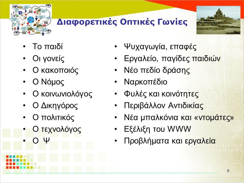 Η επιστήμη του Web ( Web Science) Μια Διεπιστημονική Προσέγγιση (και το πρώτο συνέδριο στην Ελλάδα !)