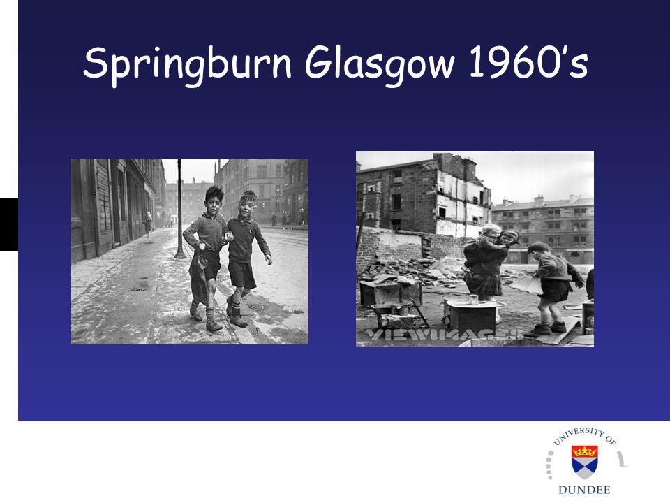 Springburn Glasgow 1960's