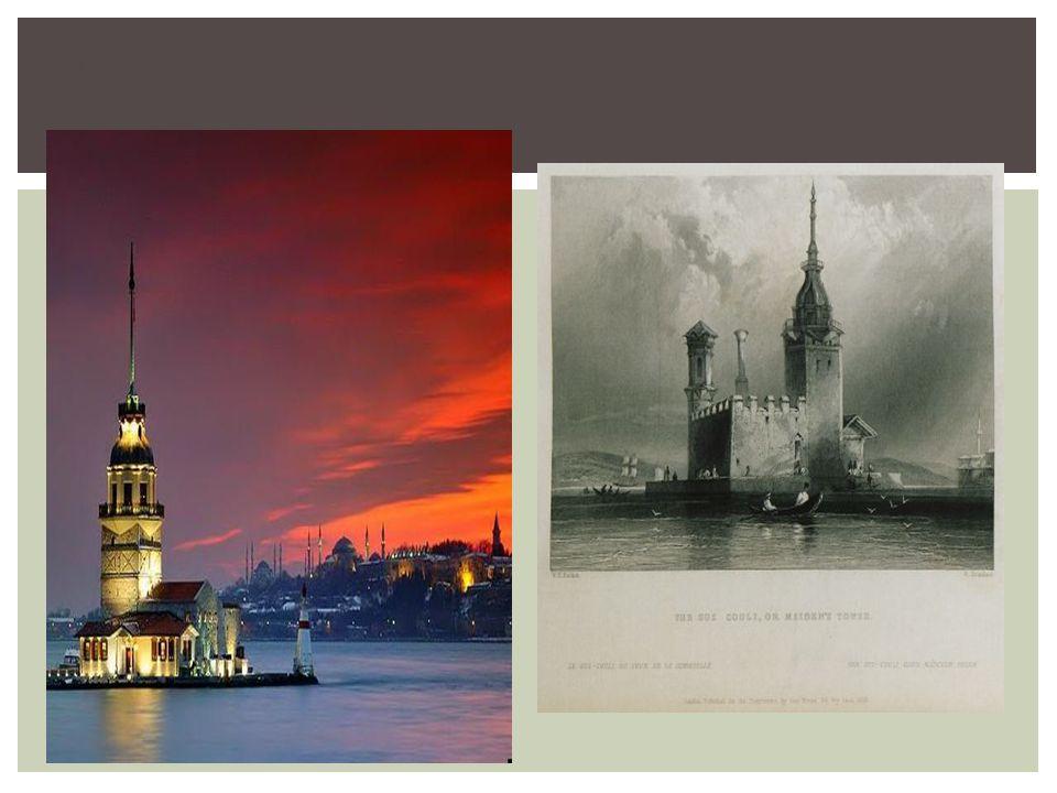 Πύργος Λεάνδρου (σήμερα) Πύργος Λεάνδρου (παλιά)