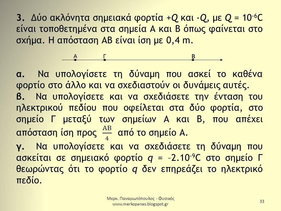 Μερκ. Παναγιωτόπουλος - Φυσικός www.merkopanas.blogspot.gr 33