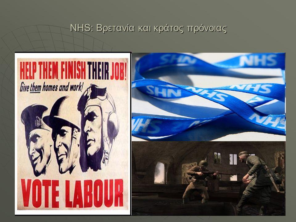 NHS: Βρετανία και κράτος πρόνοιας