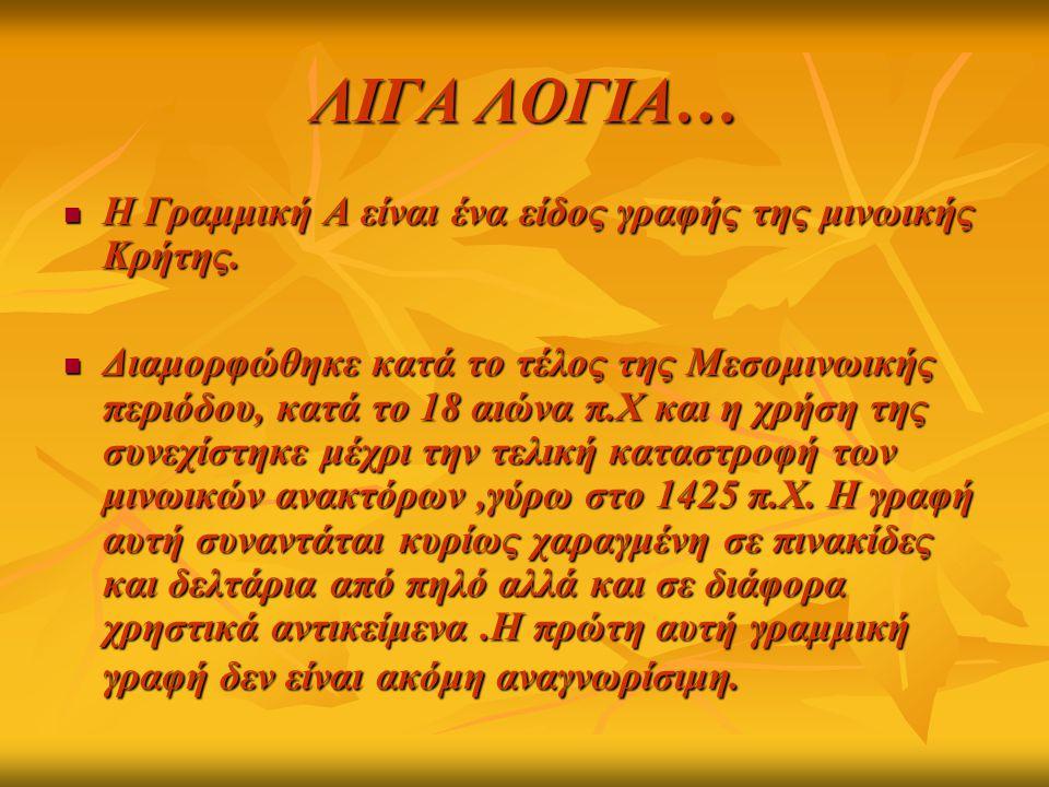 ΓΡΑΜΜΙΚΗ Β΄