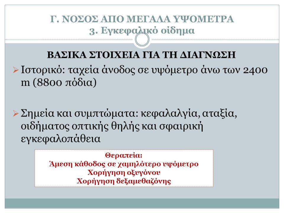 Γ.ΝΟΣΟΣ ΑΠΟ ΜΕΓΑΛΑ ΥΨΟΜΕΤΡΑ 3.