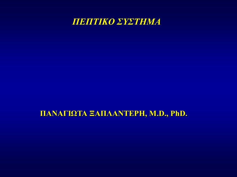 ΠΑΝΑΓΙΩΤΑ ΞΑΠΛΑΝΤΕΡΗ, M.D., PhD. ΠΕΠΤΙΚΟ ΣΥΣΤΗΜΑ