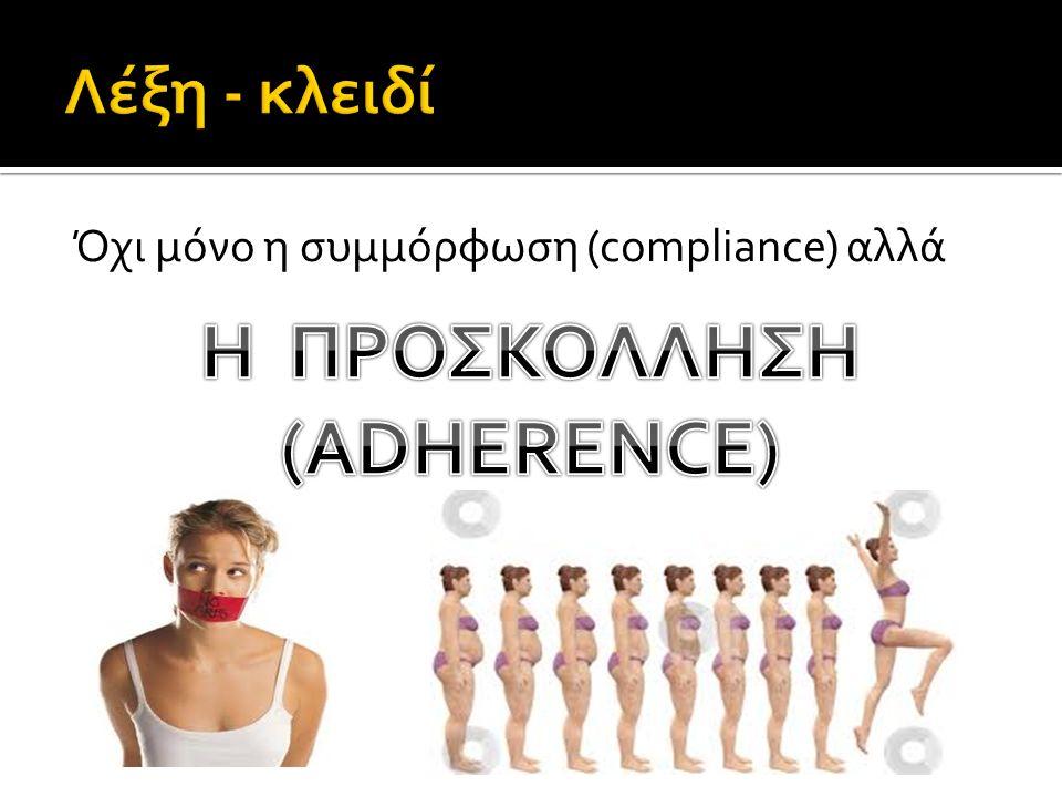 Όχι μόνο η συμμόρφωση (compliance) αλλά
