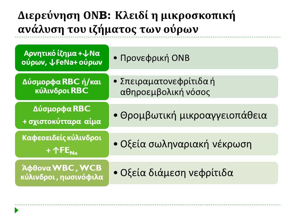 Διερεύνηση ΟΝ B: Κλειδί η μικροσκοπική ανάλυση του ιζήματος των ούρων