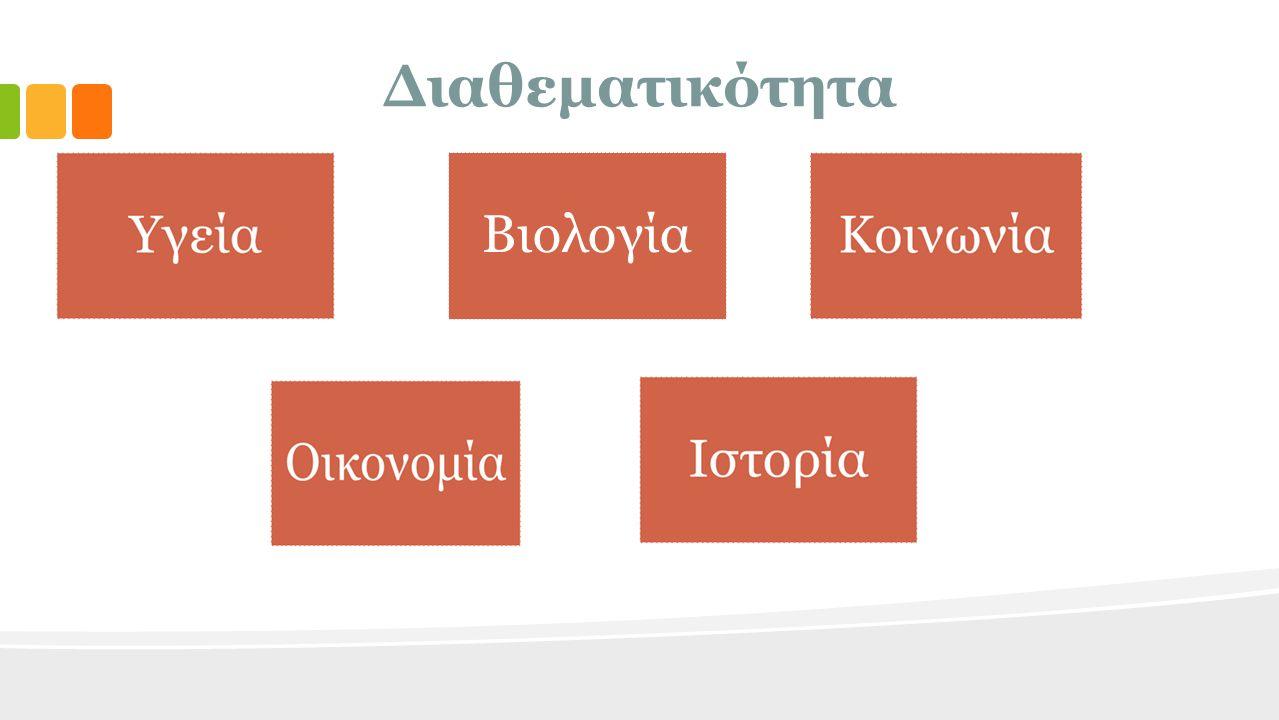 Διαθεματικότητα Βιολογία