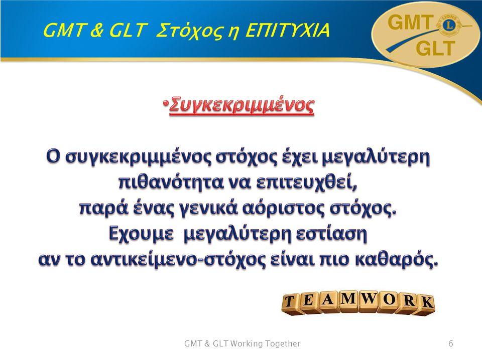 GMT & GLT Στόχος η ΕΠΙΤΥΧΙΑ GMT & GLT Working Together7