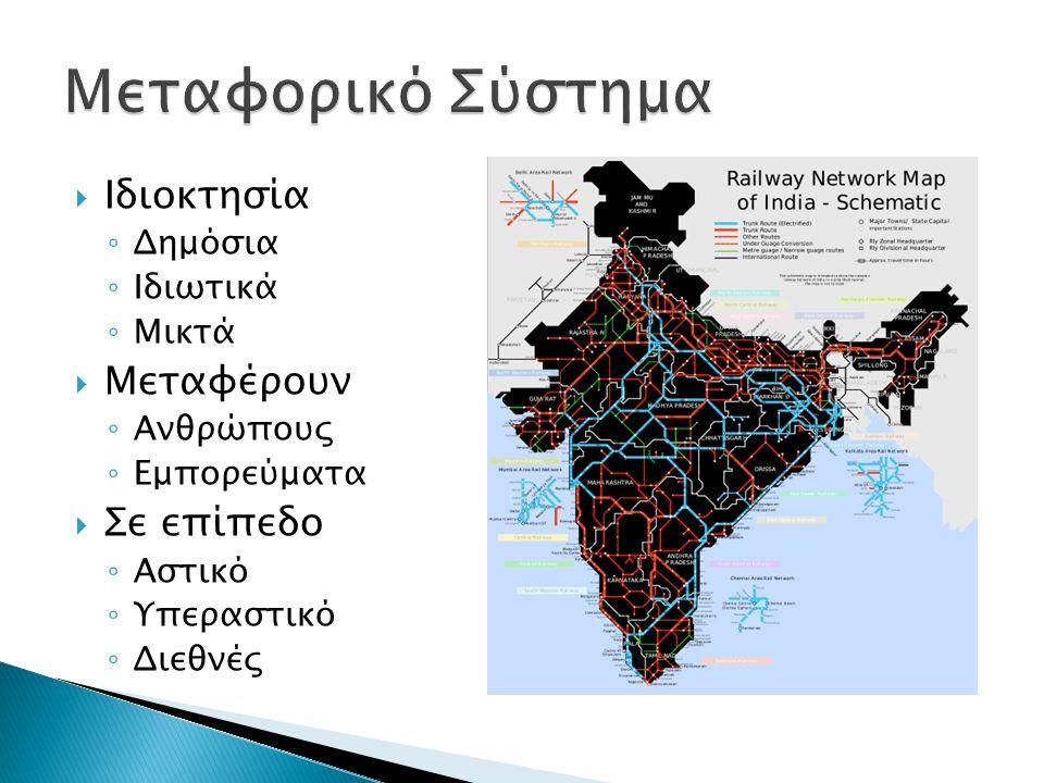  Συγκέντρωση και μίξη προορισμών  Συγκέντρωση υπηρεσίων  Περισσότερες επιλογές μεταφορικών μέσων.