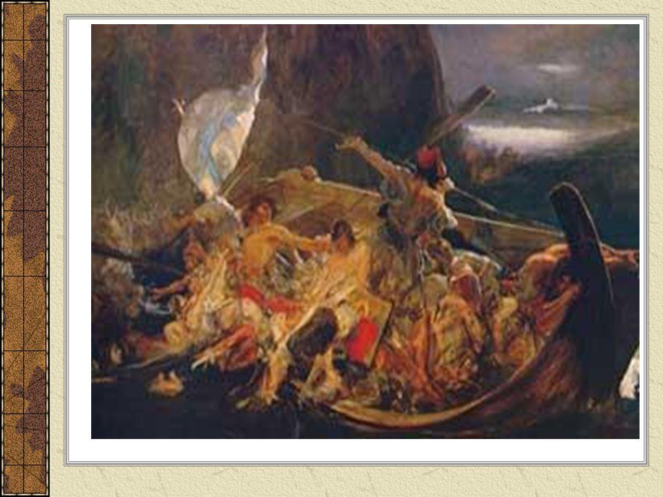 Ο Κρητικός Εκοίταα, κι ήτανε μακριά ακόμη τα' ακρογιάλι· «Αστροπελέκι μου καλό, για ξαναφέξε πάλι!».