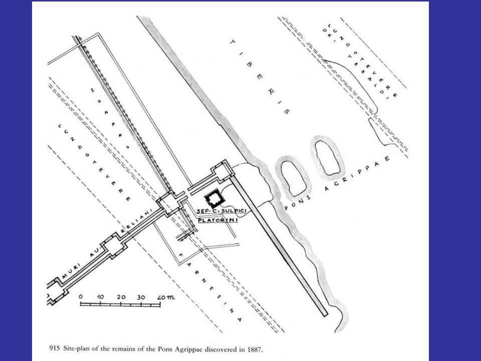Forum Romanum: τα βάθρα της αψίδας του Αυγούστου