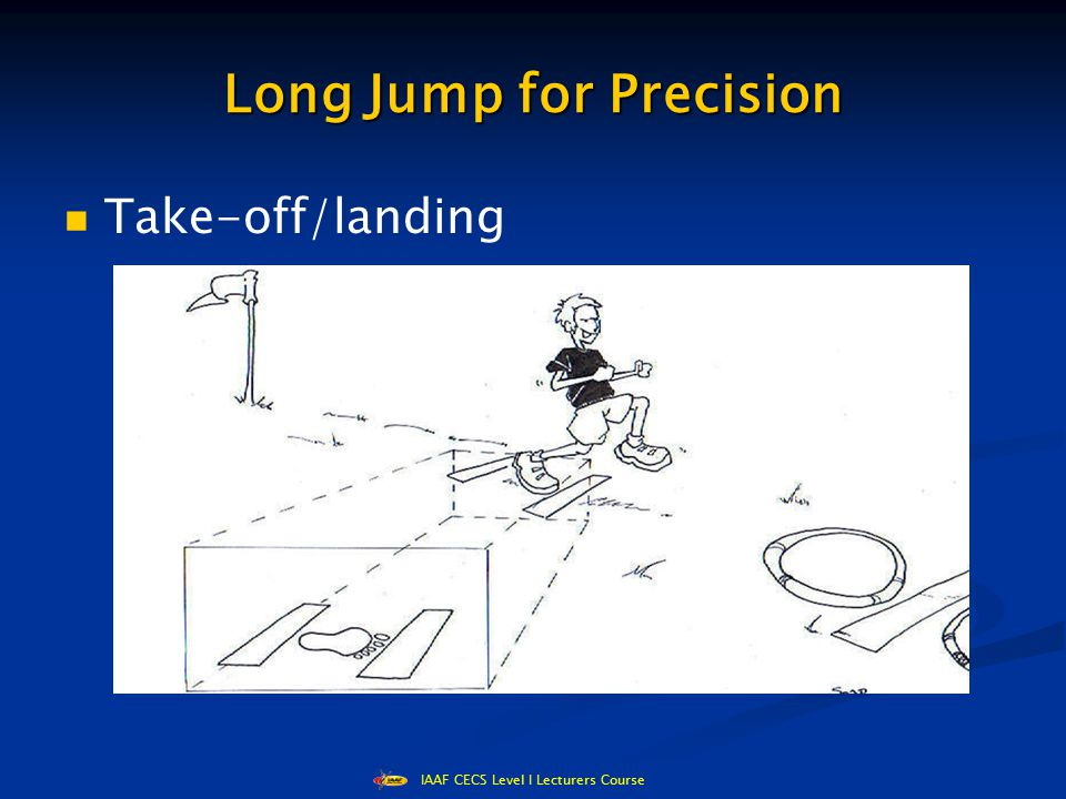 IAAF CECS Level I Lecturers Course Long Jump for Precision Take-off/landing