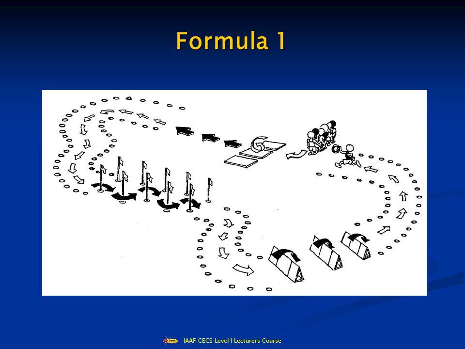 IAAF CECS Level I Lecturers Course Sprint/Hurdles/Slalom Shuttle Relay