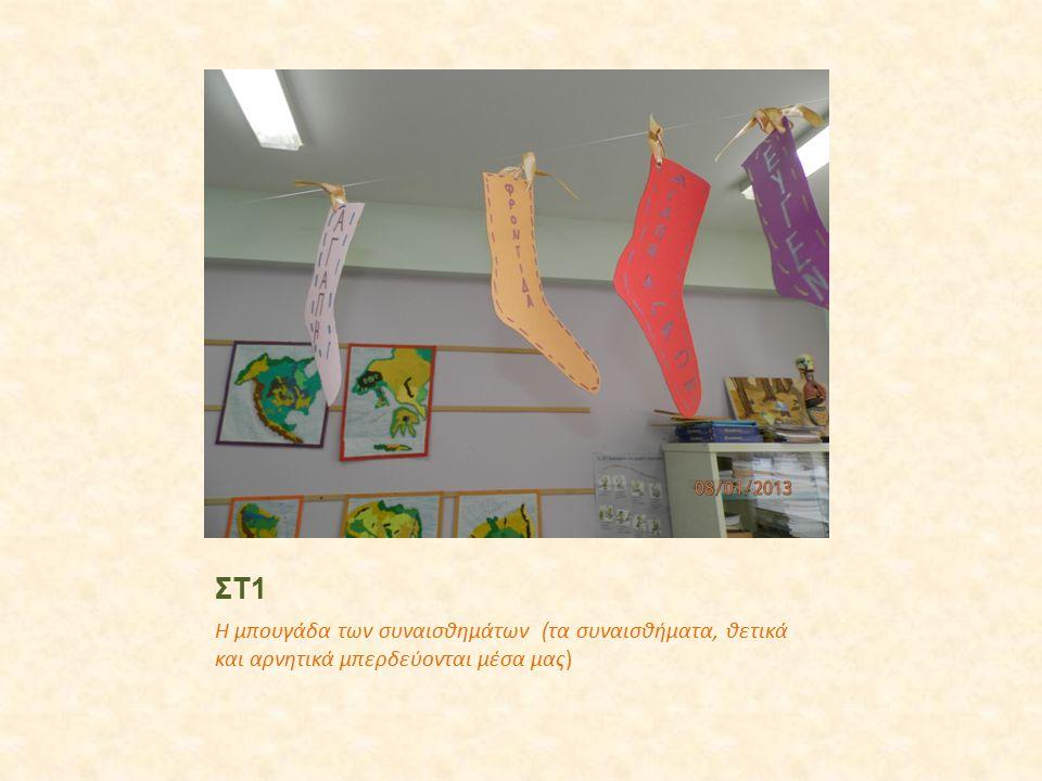 ΣΤ1 Η μπουγάδα των συναισθημάτων (τα συναισθήματα, θετικά και αρνητικά μπερδεύονται μέσα μας)