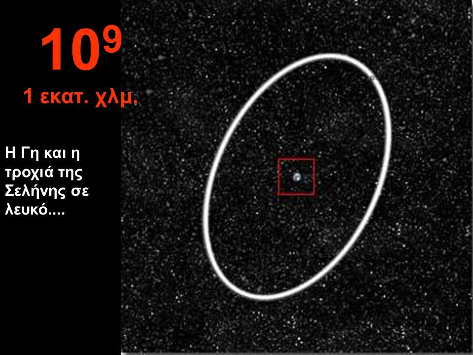 Η Γη αρχίζει να δείχνει μικρή 10 8 100.000 χλμ.