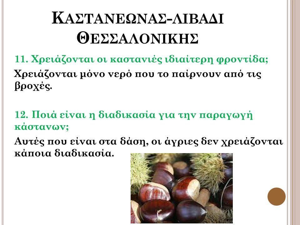 Κ ΑΣΤΑΝΕΩΝΑΣ - ΛΙΒΑΔΙ Θ ΕΣΣΑΛΟΝΙΚΗΣ 11.