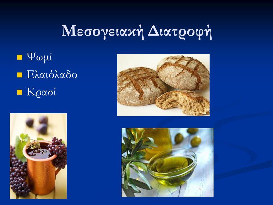 Ψωμί Ελαιόλαδο Κρασί