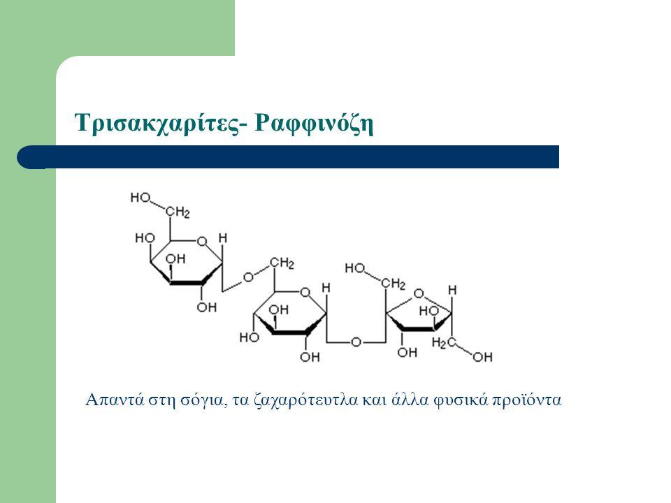 Τρισακχαρίτες- Ραφφινόζη Απαντά στη σόγια, τα ζαχαρότευτλα και άλλα φυσικά προϊόντα