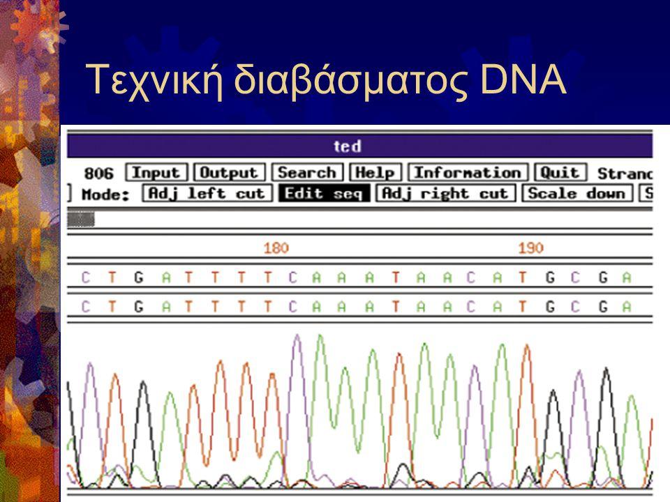 Τεχνική διαβάσματος DNA